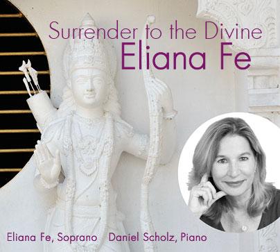 CD 'Surrender to the Divine' von Eliana Fe - Lieder für den inneren Frieden