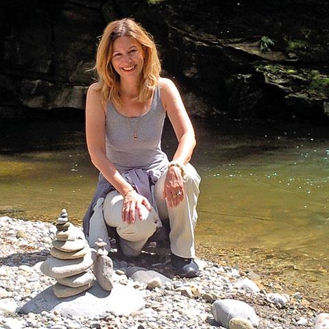 Eliana Fe, Blog seifrei, am Flussufer